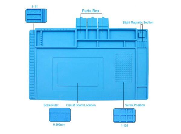 سیلیکونی تعمیر موبایل te 603 سایز 450x300mm 1 ارکید استور