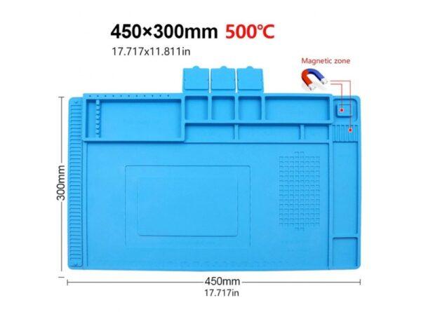 سیلیکونی تعمیر موبایل te 603 سایز 450x300mm 3 ارکید استور