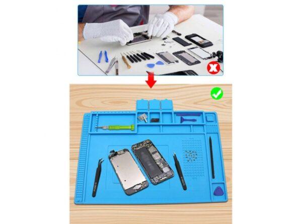 سیلیکونی تعمیر موبایل te 603 سایز 450x300mm 4 ارکید استور