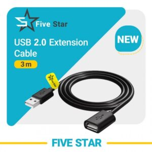 extention usb2 cable 5star 5s 3m great co.ir 1000x1000 1 ارکید استور