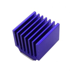 سینک مخصوص پردازنده و تراشه های smd آبی رنگ سایز 15x14x13mm 2 ارکید استور